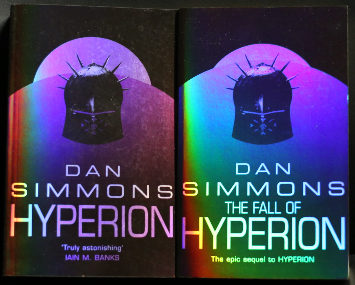 Hyperion Cantos covers