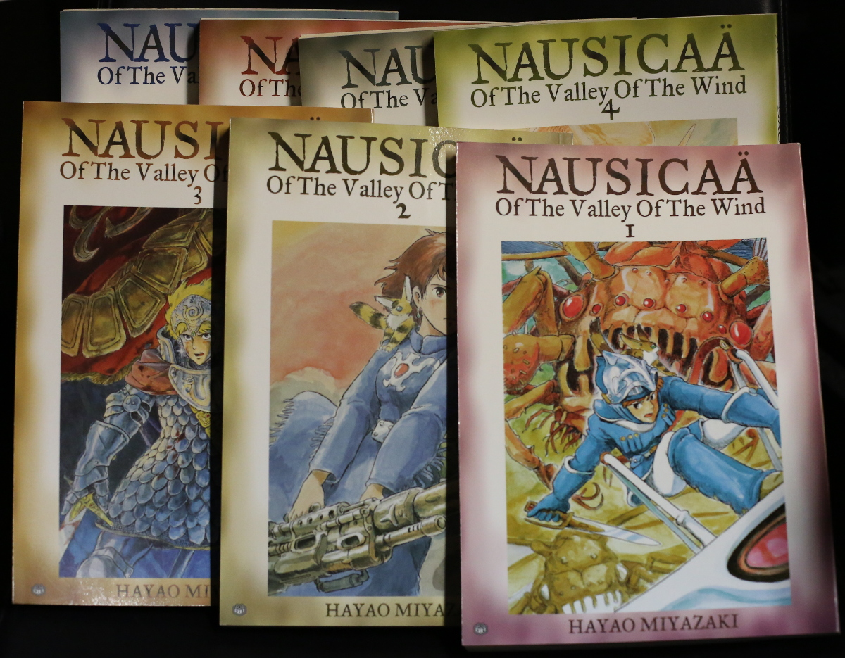 Nausicaä Of The Valley Of The Wind cover